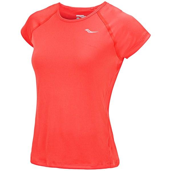 Saucony Velo Shirt - Upf 40-50, Short Sleeve (for Women)