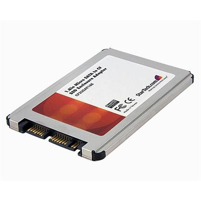 1.8in Micro SATA to Compact Flash Solid State Drive Enclosure Adapter - Storage controller - CompactFlash - SATA-300