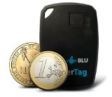 Beets Blu Wireless Pager Tag Bluetooth 4.0 Smart Small Key Finder Keychain with Audio Alarm. Device Works with Smartphone Apple iPhone (4S, 5, 5S, 5C, 6, 6 plus), iPad (mini, 3, 4, Air) and Samsung Galaxy (S4, S5). Key Locator System Works with App to iOS and Android