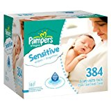 Pampers Sensitive Baby Wipes - 384 Ct
