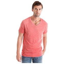 New Lucky Brand Apparel Weekender V Mineral Red XXL Mens Shirt