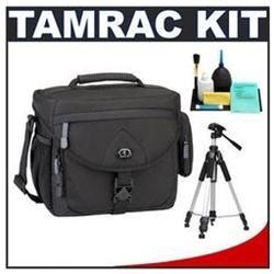 Tamrac 5564 Explorer 400 Digital SLR Camera Bag Case (Black)   Tripod   Accessory Kit