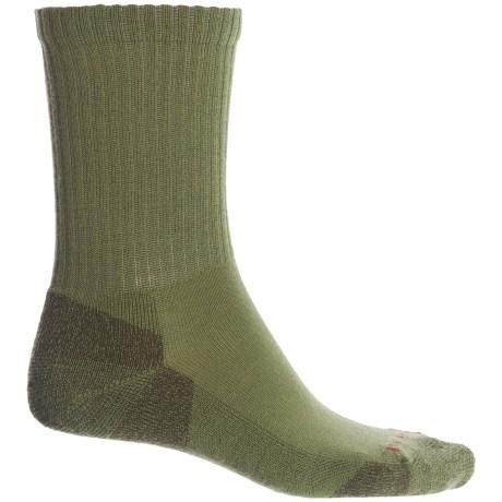 Heathered Rib Socks - Merino Wool, Crew (for Men)