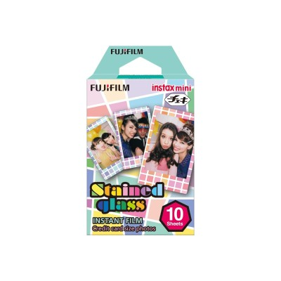 Fujifilm 16203733 Instax Mini Stained Glass Film Accspack