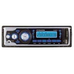 Pyramid Car Flash Audio Player - MP3 - FM, AM - Secure Digital (SD) Card - Yes - Yes