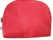 Sephora Pampered Party Prep Red Cosmetic Case Bag