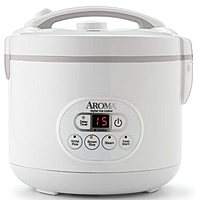 Enjoy easy home cooking with the Aroma ARC 926D Digital Rice Cooker and Food Steamer