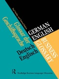 German/english Business Glossary