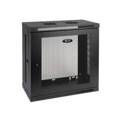 Tripplite Srw12u13 12u Wall Mount Rack Enclosure Server Cabinet Wallmount 13 Depth - Cabinet - Wall Mountable - Black - 12u - 19