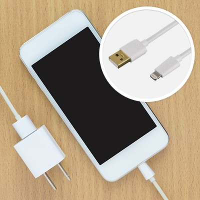Hama Gmbh & Co Kg U6108989 Military Grade Lightning To Usb Charge/sync Cable 6ft - White