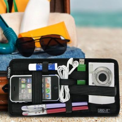 Cocoon Cpg5bk Grid-it! Organizer Cpg5 - Internal Accessory Holder - Black - For Apple Iphone 3g  3gs  4  Ipod (4g  5g)  Ipod Classic  Ipod Mini  Ipod Nano  Ipod
