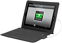 Innovative Technology Itj-4231blk Ultra-slim Justin Power Case For Ipad - Black
