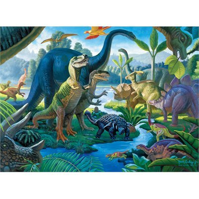 Land Of The Giants 100 Xxl Piece Puzzle By Ravensburger