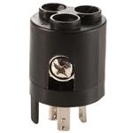 Motorguide 8m0092067 6-gauge Wire Receptacle Adapter