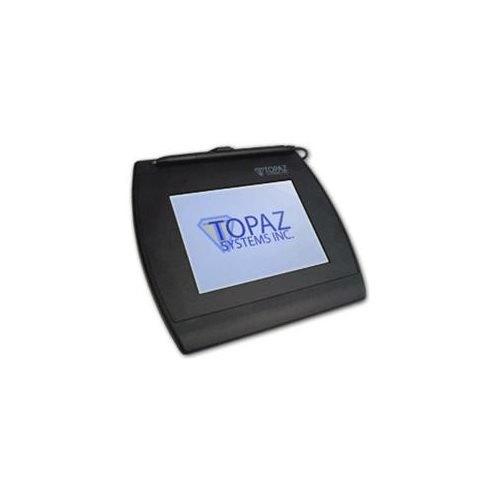 Topaz SigGemColor T-LBK57GC-BHSB Electronic Signature Pad - Signature Pad - Backlit LCD - Active PenUSB, Serial - 4.60