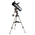 """Celestron AstroMaster 130EQ MD, The Celestron 31051 is a dual-purpose telescope appropriate for both terrestrial and celestial viewing"