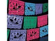 Plastic Mexican Cutout Banner