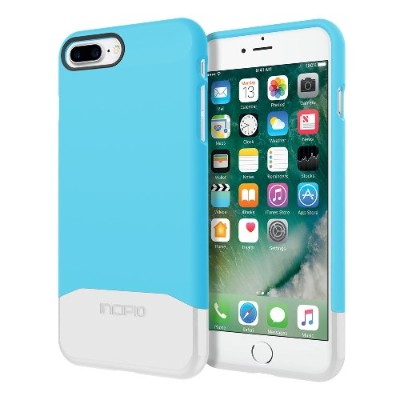 Incipio Iph-1501-sbs Edge Chrome Two Piece Slider Case For Iphone 7 Plus - Sky Blue/silver