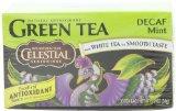 Celestial Seasonings Green Tea, Decaf Mint, 20-Count Tea Bags (Pack of 6)