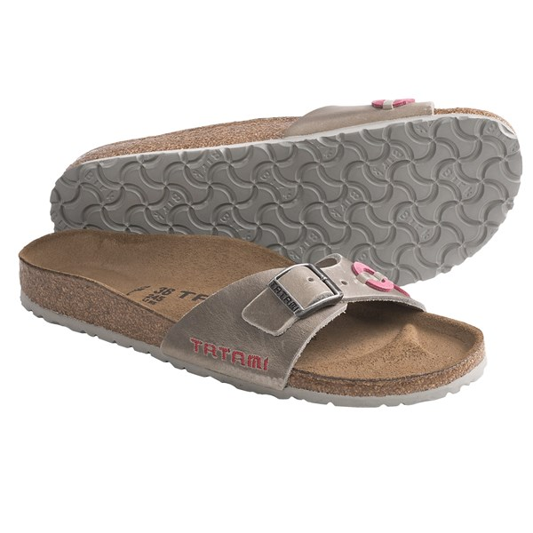 Tatami by Birkenstock Madrid Applique Sandals - Leather (For Women)