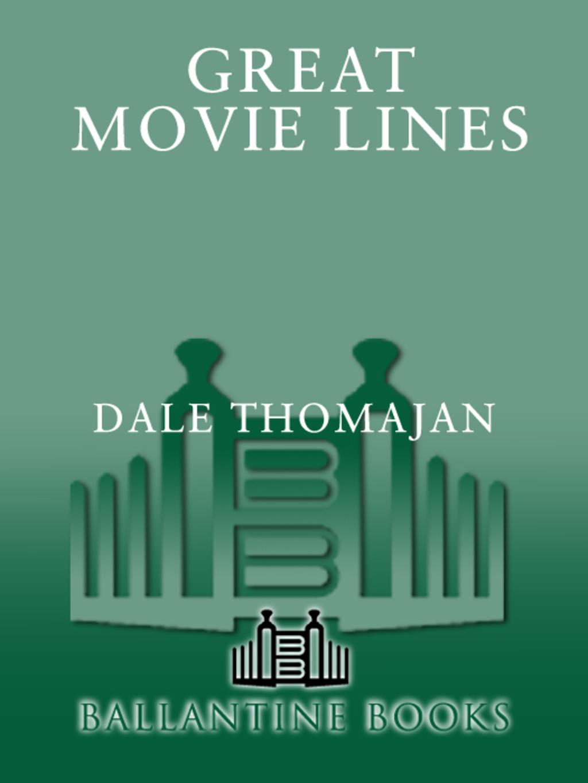 Great Movie Lines (ebook)