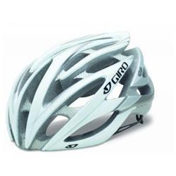 Giro Atmos Bicycle Helmet White/Silver L