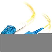 10m Lc-sc 9/125 Os1 Duplex Singlemode Pvc Fiber Optic Cable - Yellow - Fiber Optic For Network Device - Lc Male - Sc Male - 9/125 - Duplex Singlemode - Os1 - 10m - Yellow 28523