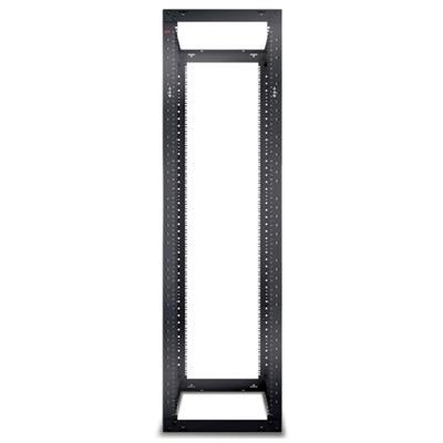Apc Ar203a Netshelter 4 Post Open Frame Rack - Rack - Black - 44u - For P/n: Sua5000rmi5u