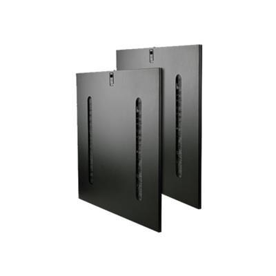 Tripplite Sr42sidept 42u Rack Enclosure Cabinet Side Panels Cable Pass Through Slots
