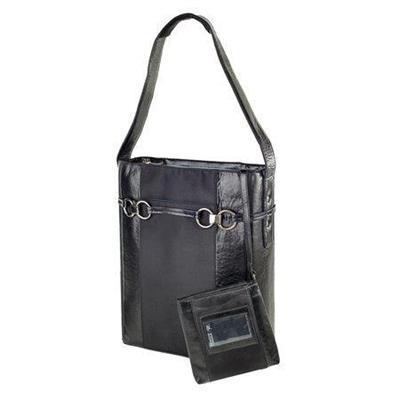 Women In Business Wib 14stilamod-1 14 Stila Moderno Vertical Laptop Case - Black