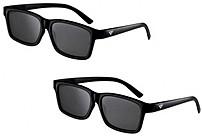 Vizio Xpg302 Theater 3d Glasses - 2 Pack - Black