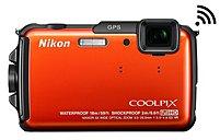 Nikon Coolpix 26412 Aw110 16.0 Megapixels Digital Camera - 5x Optical Zoom - 3-inch Oled Display - 5-25 Mm Lens - Orange