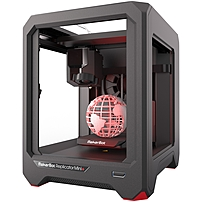The MakerBot Replicator Mini  is engineered and tested for simple, accessible, and reliable desktop 3D printing