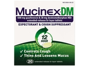 Dm Expectorant And Cough Suppressant, 20 Tablets/Bottle