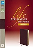 Zondervan NIVLife Application Study Bible/Large Print-Brg Bond