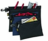 Custom Leathercraft 1100 Multi-Purpose Clip-on Zippered Poly Bags