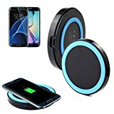 Galaxy S7/S7 Edge Wireless Charger, HP95(TM)Qi Wireless Power Charger Charging Pad for Samsung Galaxy S7/S7 Edge (Blue)