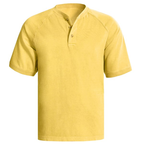 Woolrich First Forks Henley Shirt - Short Sleeve (for Men)