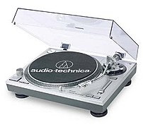 Audio Technica At-pl120 Professional Direct Drive Dj Turntable With Cartridge - Stereo - 78, 33.3, 45 Rpm