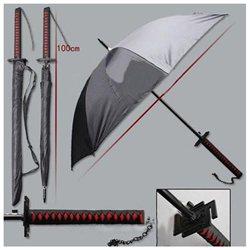 Bleach Samurai Katana Kurosaki ichigo Sword Umbrella Cos Props Warrior Umbrellas