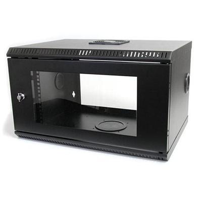 Startech Rk619wall 6u 19in Wall Mount Server Rack Cabinet With Acrylic Door - Rack (wall Mount) - 6u