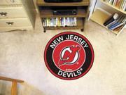 Fanmats Nhl - New Jersey Devils Roundel Mat