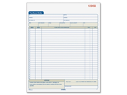 Adams Purchase Order Book