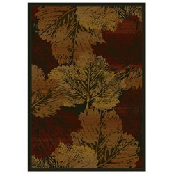 FALL CANVAS BURG Rug from the GENESIS Collection (47 x 63) by United Weavers