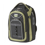"""""""Travelpro Tpro Bold - Green Brand New Includes Limited Lifetime Warranty, The Travelpro T-Pro Bold - Carry-On Backpack has large side-storage, water bottle and full size foam padded front pocket"""