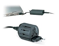 Charge your iPhone, iPod, notebook, camera and other mobile devices in almost any country worldwide