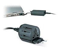 Kensington K33117 International Travel Plug Adapter - 10v Ac - Black