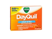Vicks Dayquil Liquicaps, 16 Each By Vicks