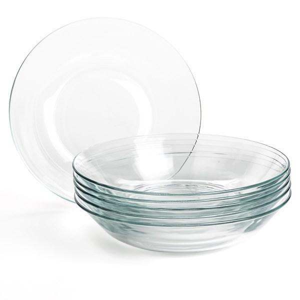 Duralex Lys Calotte Plates - 8.2?, Set Of 6