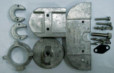 Martyr Anode Aluminum Merc Kit Alpha 1 Gen II CMALPHAKITA